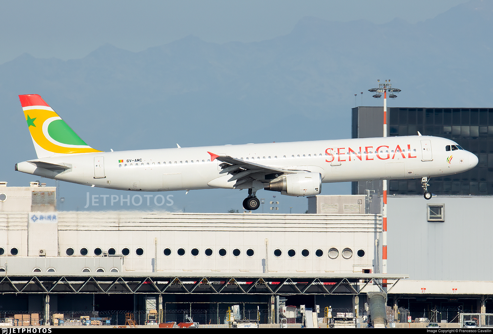 6V-AMC - Airbus A321-211 - Air Senegal
