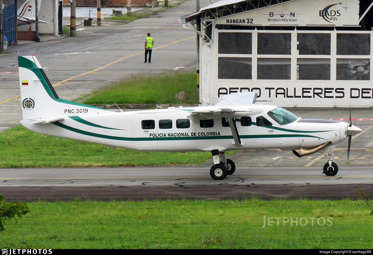 PNC-3019 - Cessna 208 Caravan - Colombia - Police