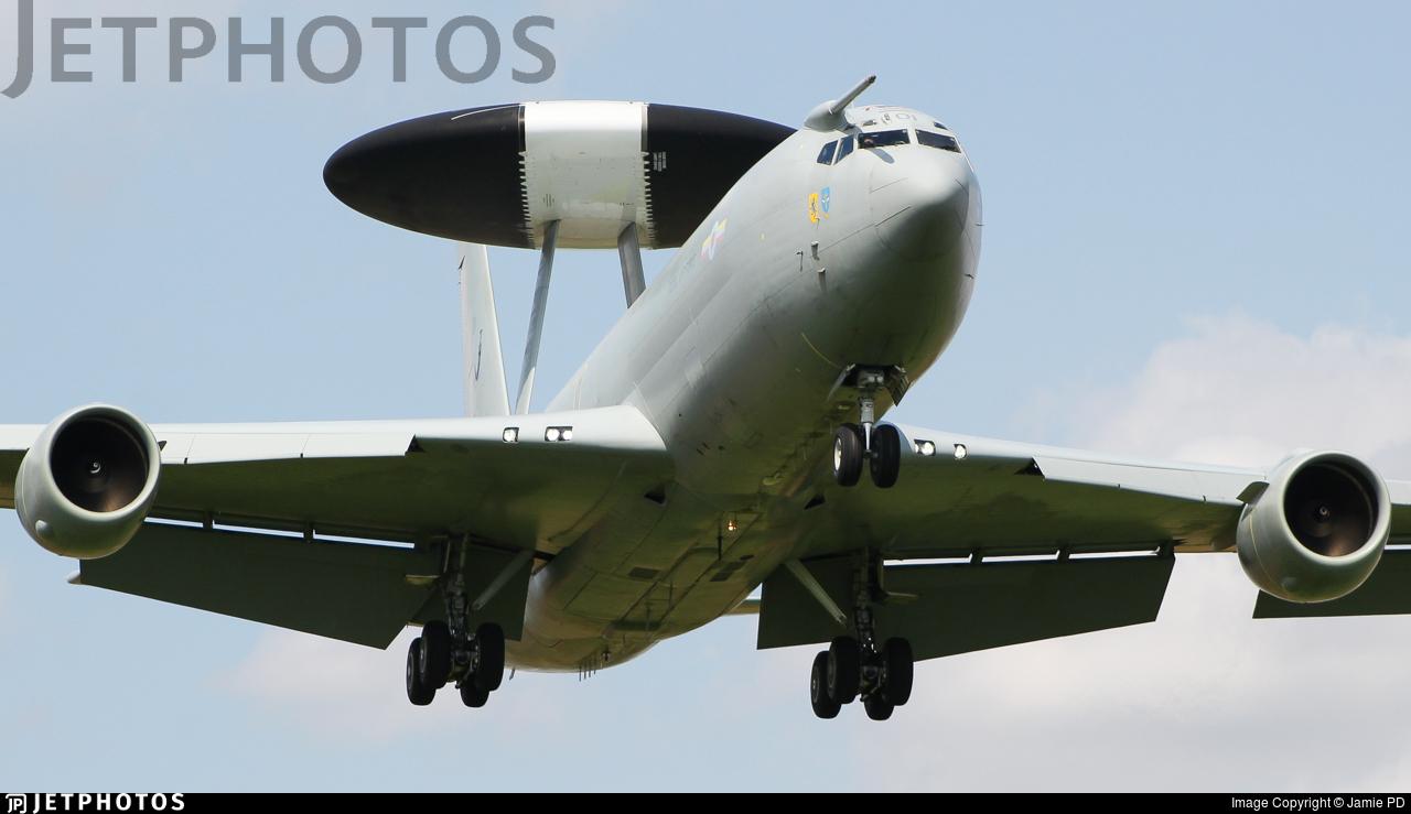 ZH101 - Boeing Sentry AEW.1 - United Kingdom - Royal Air Force (RAF)