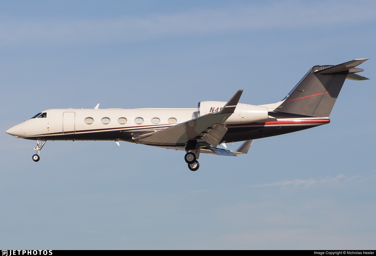 N451FX - Gulfstream G450 - Flexjet