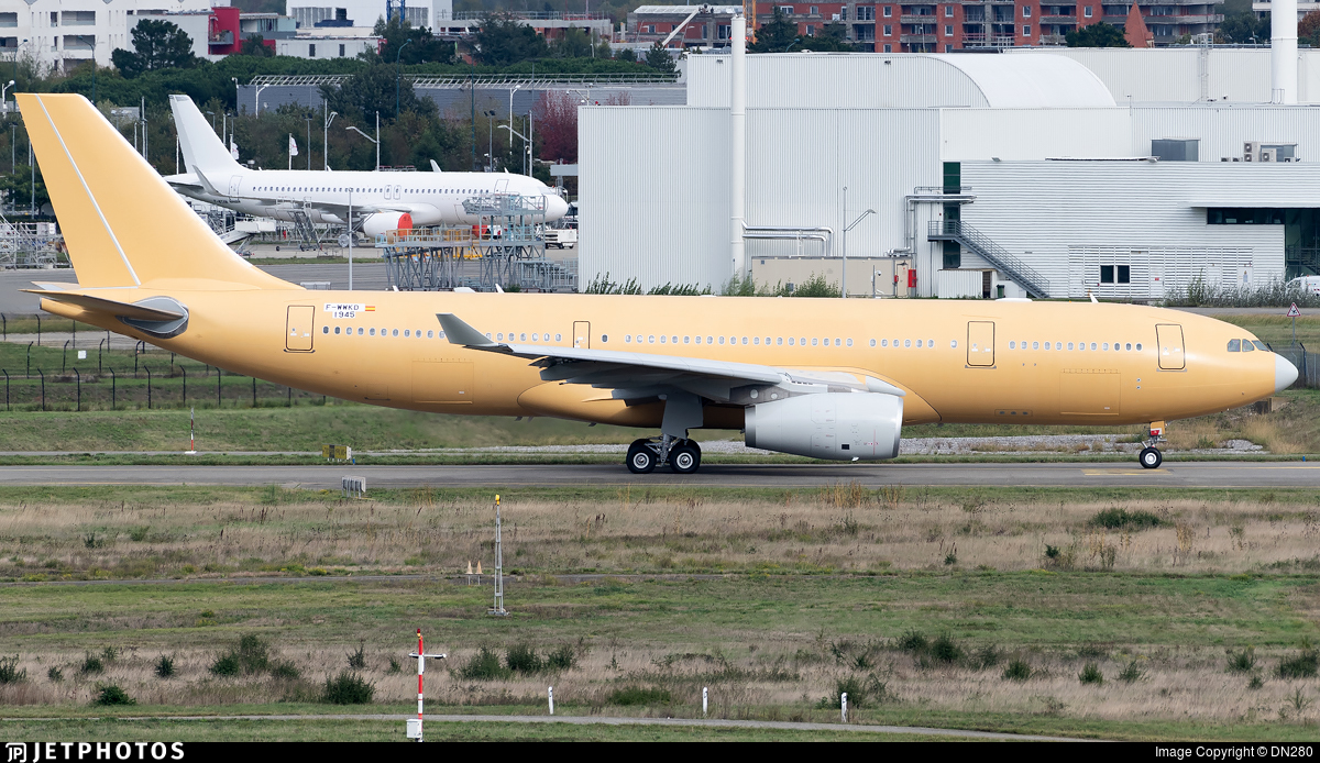 F-WWKD - Airbus A330-243(MRTT) - Airbus Industrie