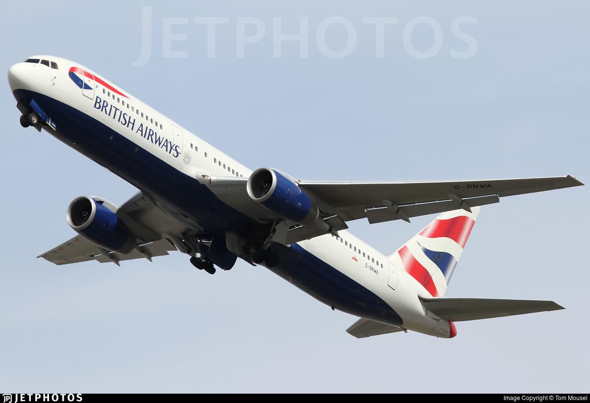G-BNWA - Boeing 767-336(ER) - British Airways