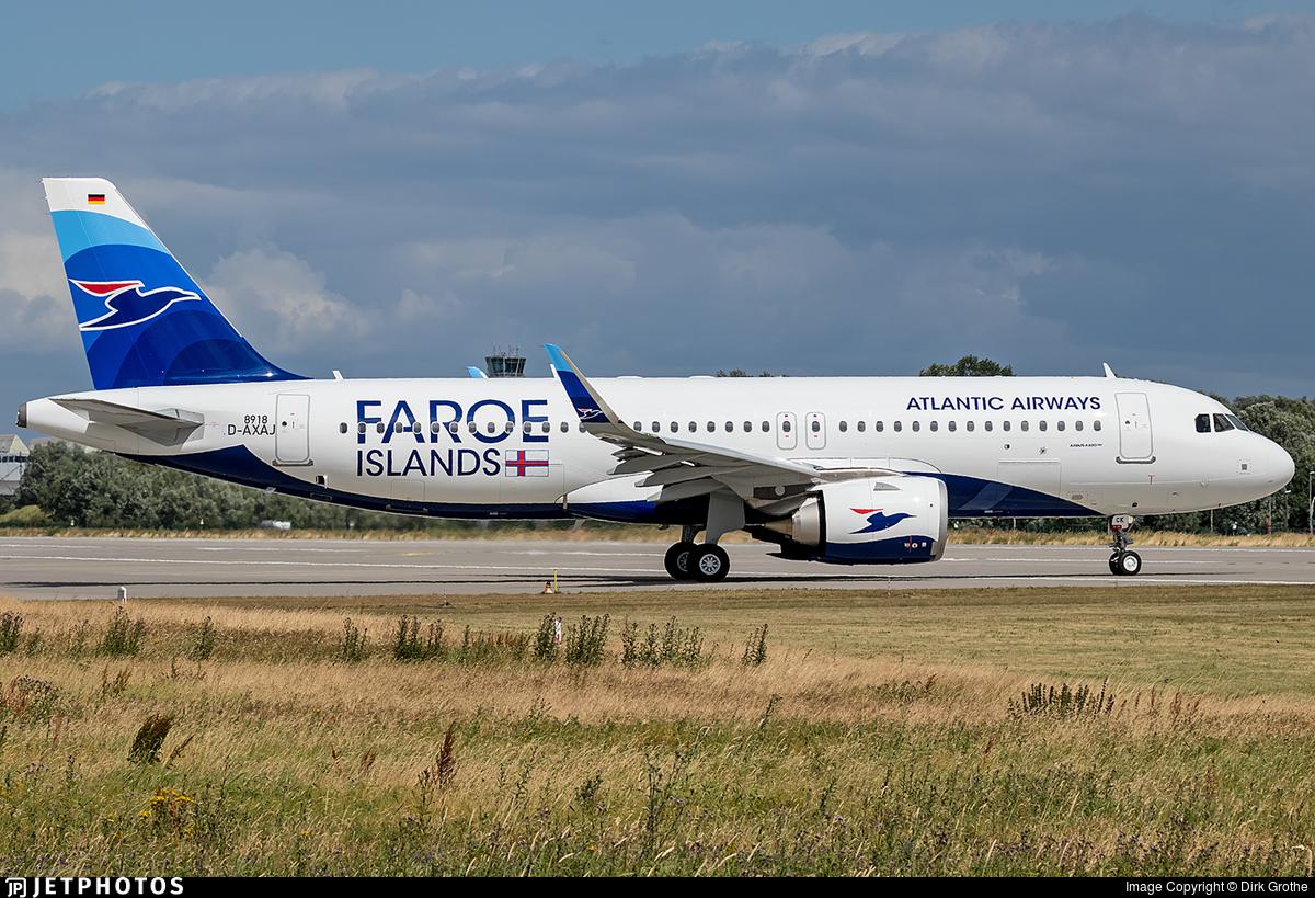 D-AXAJ - Airbus A320-251N - Atlantic Airways