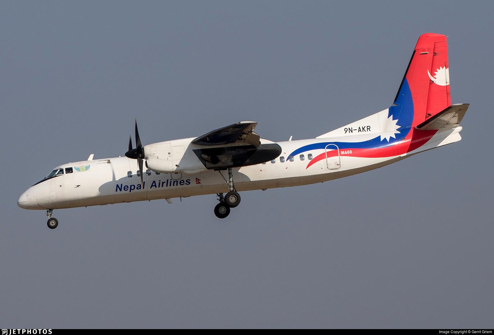 9N-AKR - Xian MA-60 - Nepal Airlines