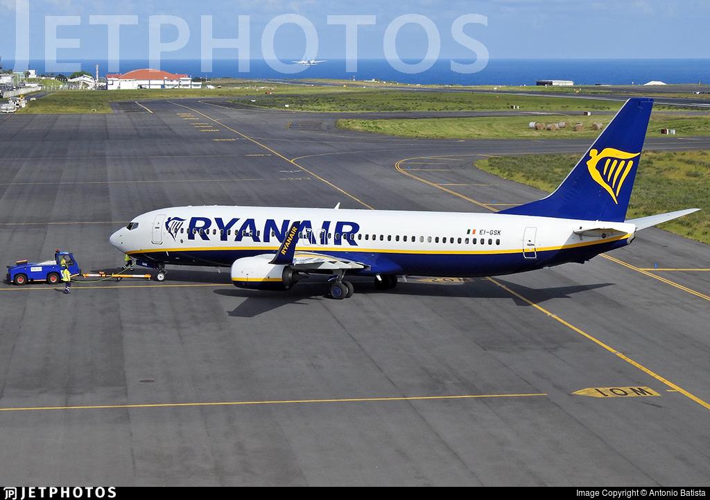 EI-GSK - Boeing 737-8AS - Ryanair