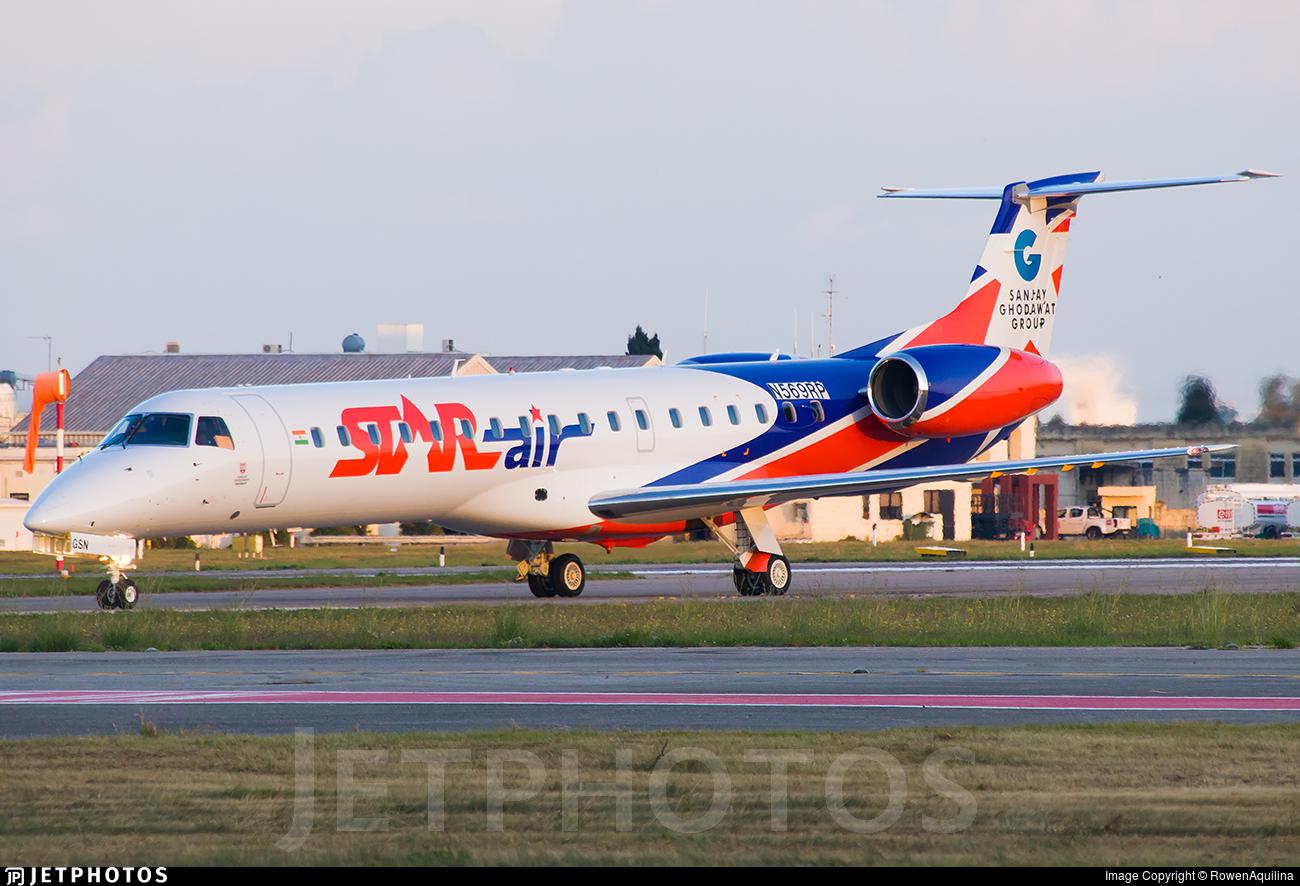 N569RP - Embraer ERJ-145LR - Star Air [India]