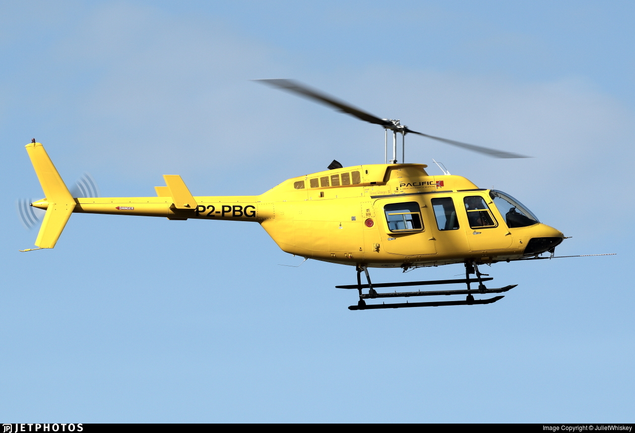 P2-PBG - Bell 206L-4 Long Ranger IV - Pacific Helicopters