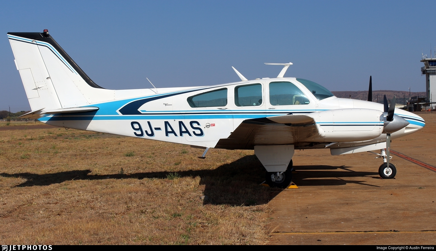 9J-AAS - Beechcraft 95-B55 Baron - Private
