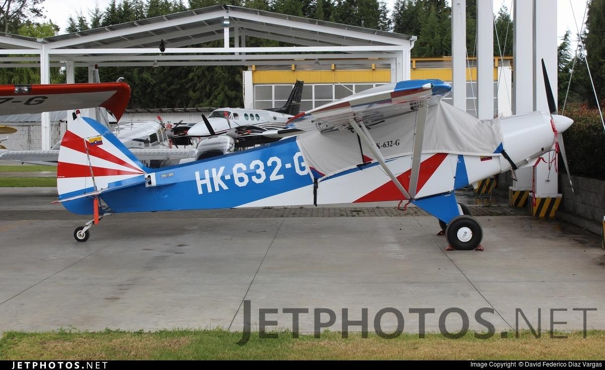 HK-632-G - Piper PA-18A-150 Super Cub - Private