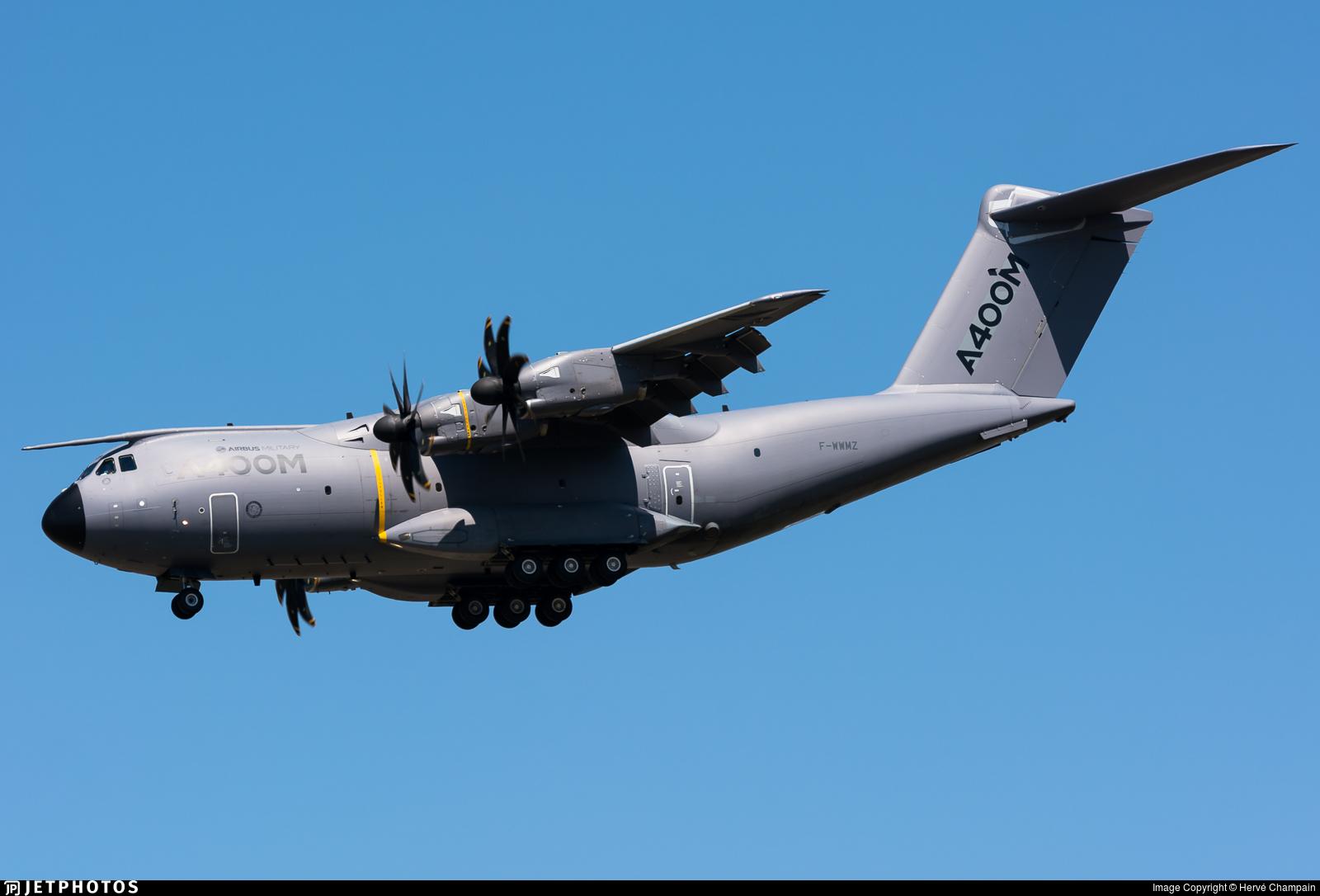 F-WWMZ - Airbus A400M - Airbus Industrie