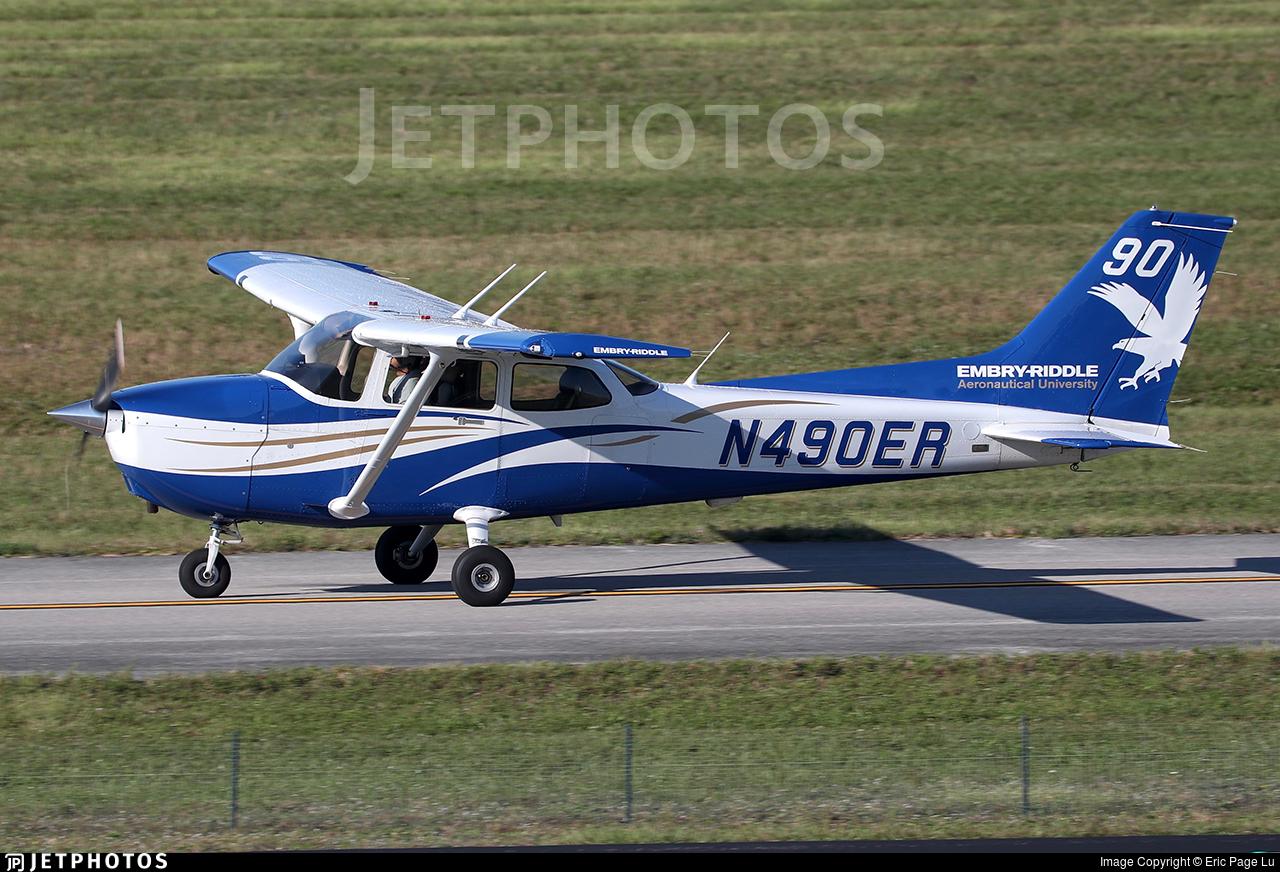 N490ER - Cessna 172S Skyhawk SP - Embry-Riddle Aeronautical University (ERAU)