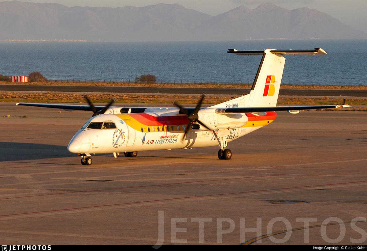 PH-DMW - Bombardier Dash 8-315 - Iberia Regional (Air Nostrum)