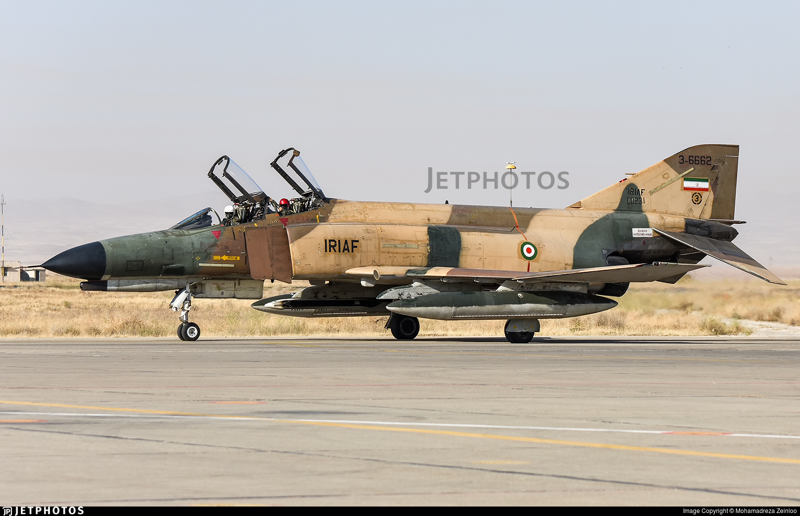 3-6662 - McDonnell Douglas F-4E Phantom II - Iran - Air Force