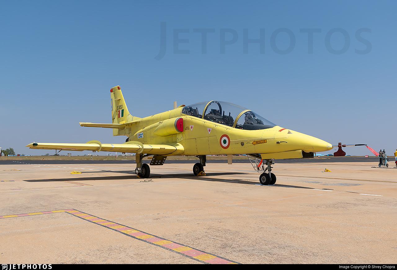 S3853 - Hindustan Aeronautics IJT - India - Air Force