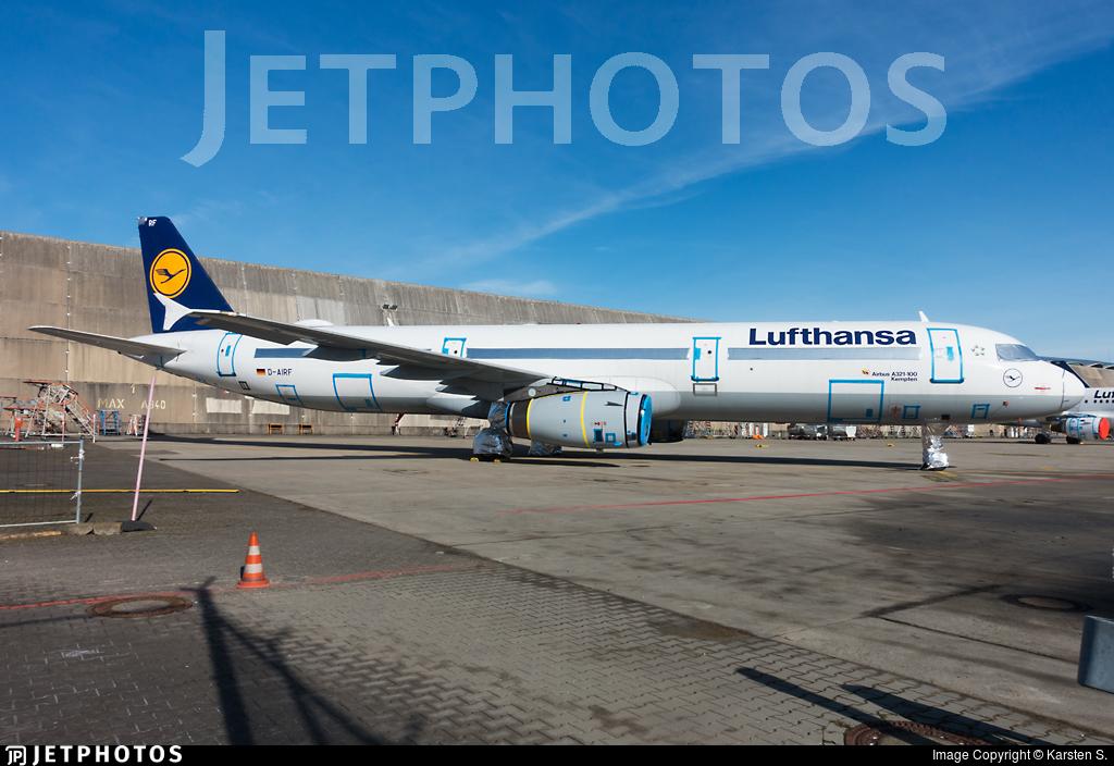 D-AIRF - Airbus A321-131 - Lufthansa