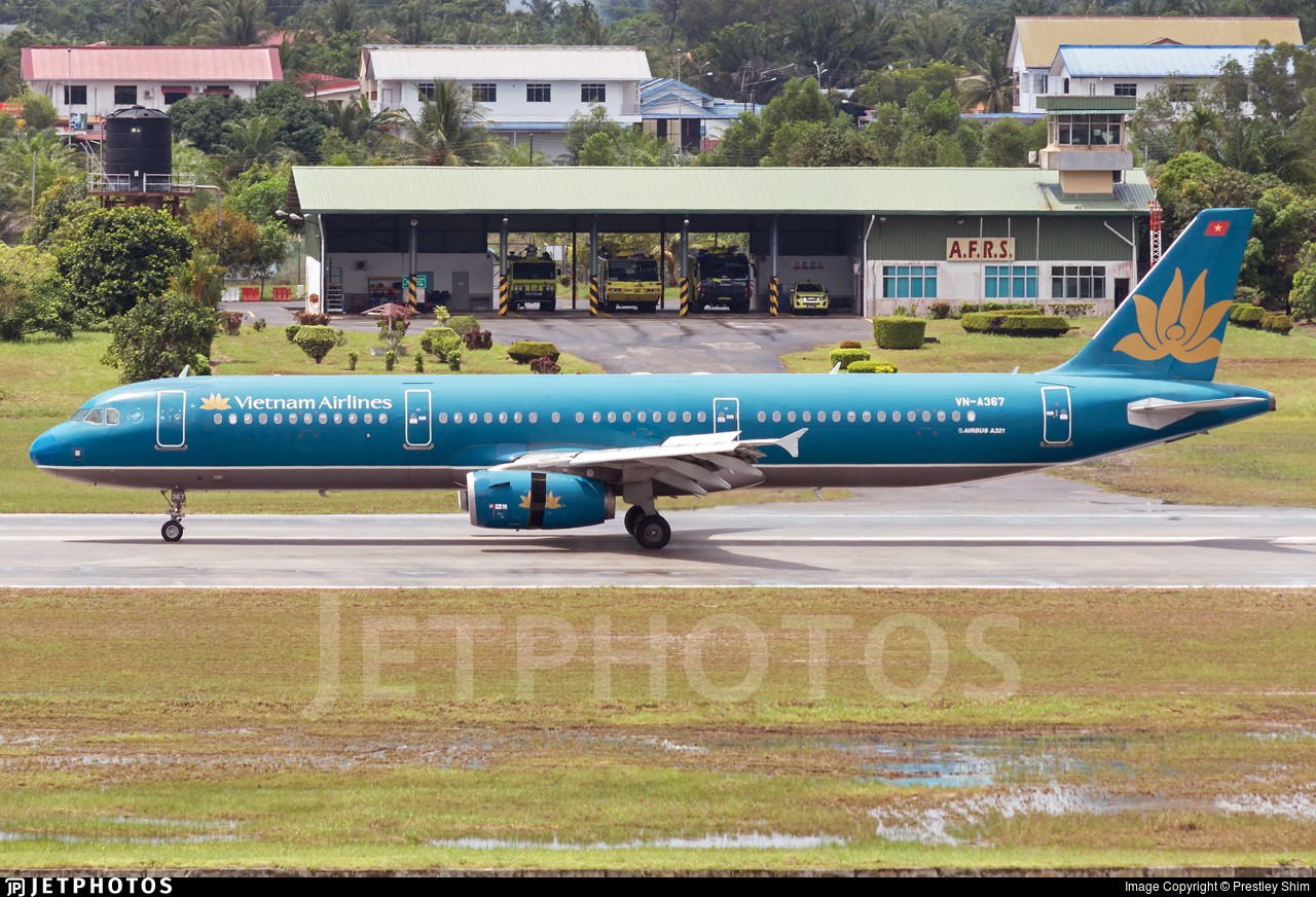 VN-A367 - Airbus A321-231 - Vietnam Airlines