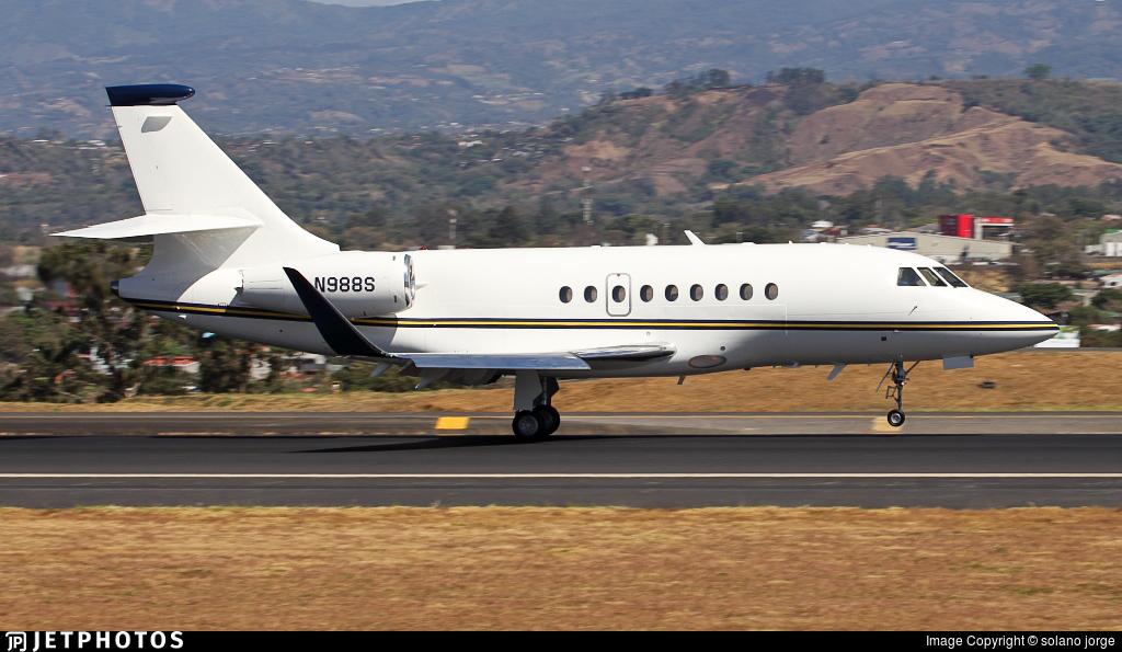 N988S - Dassault Falcon 2000 - Private
