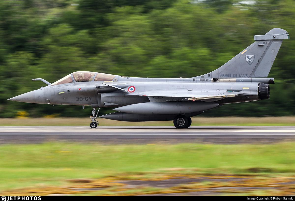 143 | Dassault Rafale C | France - Air Force | Ruben Galindo