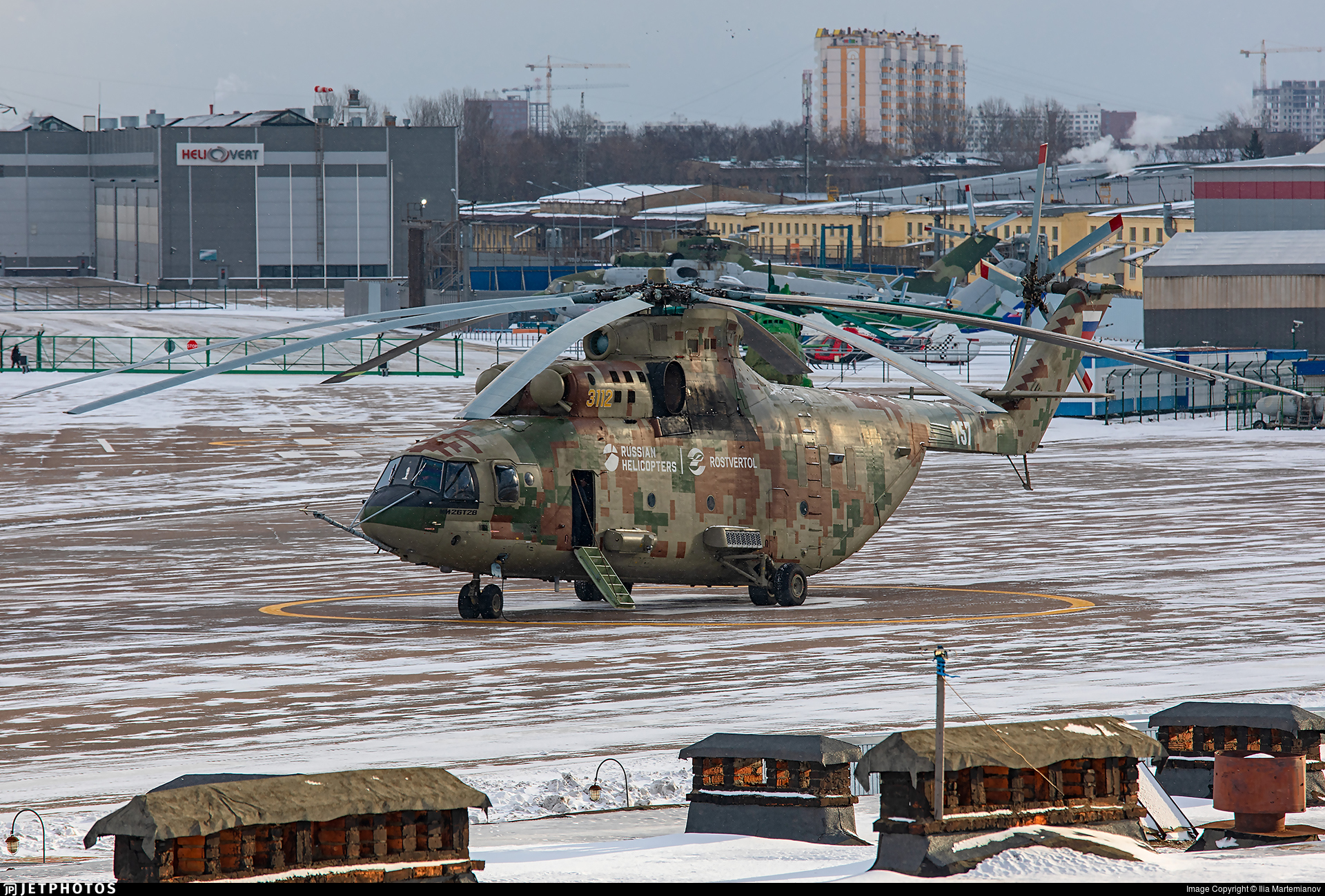 3112 - Mil Mi-26T2 Halo - Mil Design Bureau (Moscow Helicopter Plant)