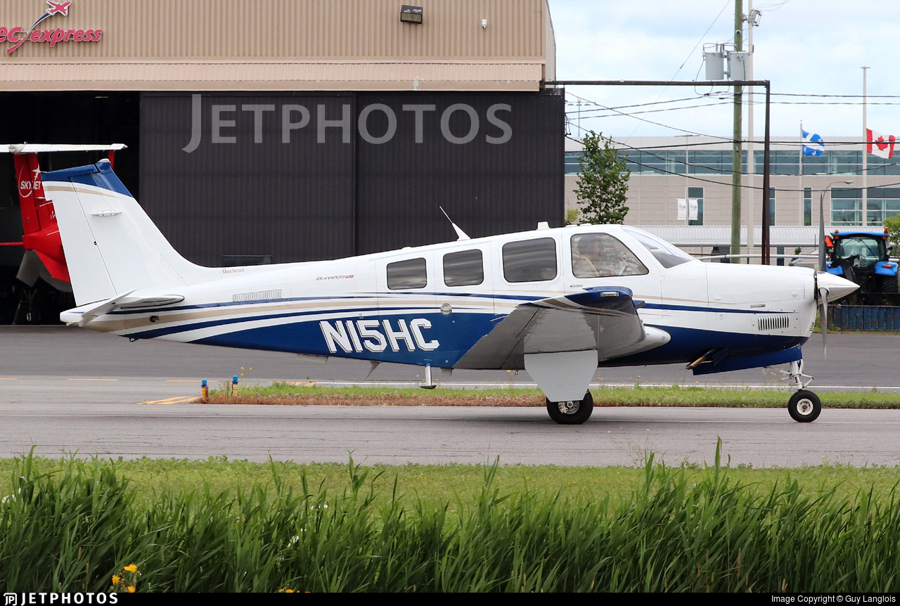 N15HC - Beechcraft G36 Bonanza - Private