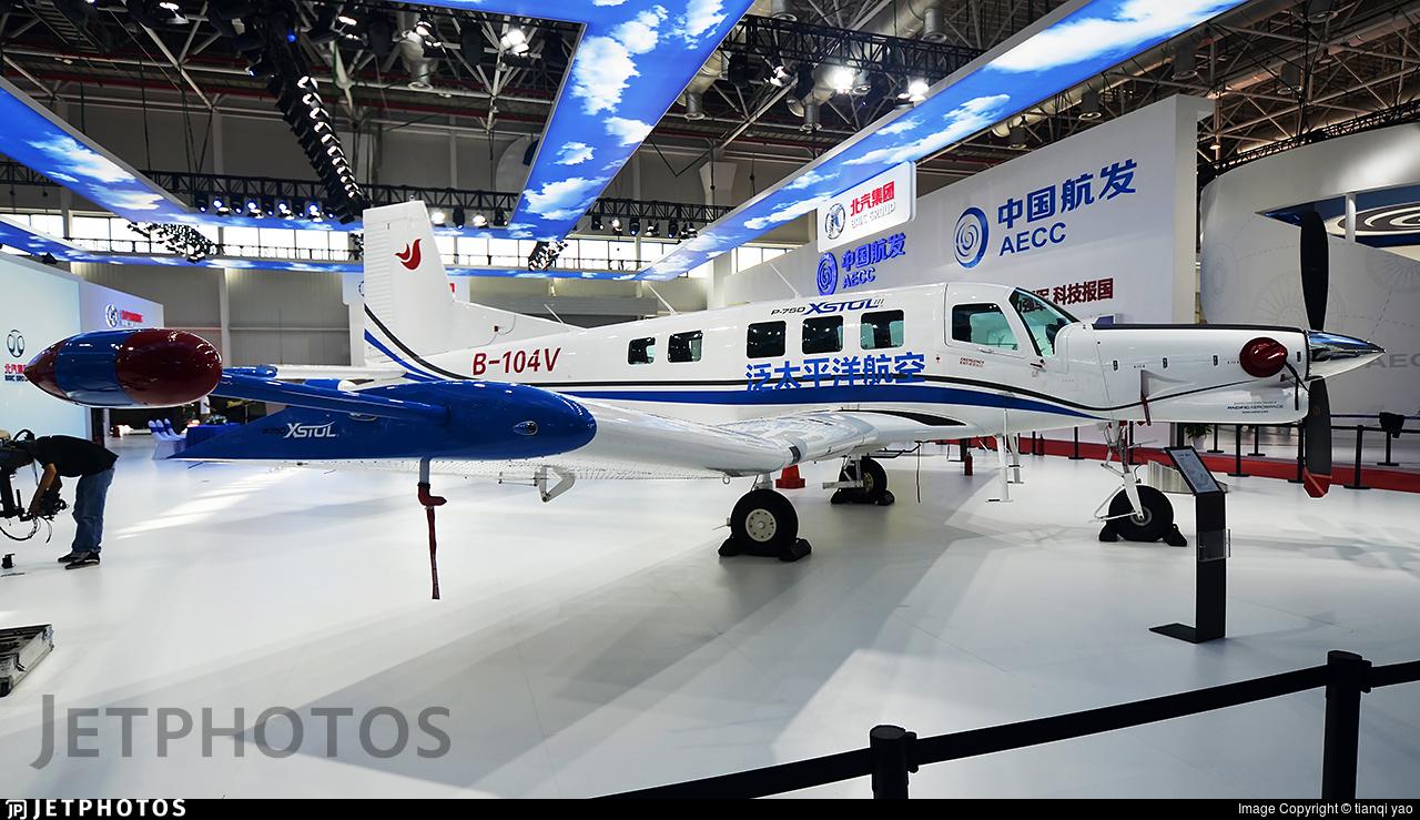 B-104V - Pacific Aerospace P-750 XSTOL - Pacific Aerospace