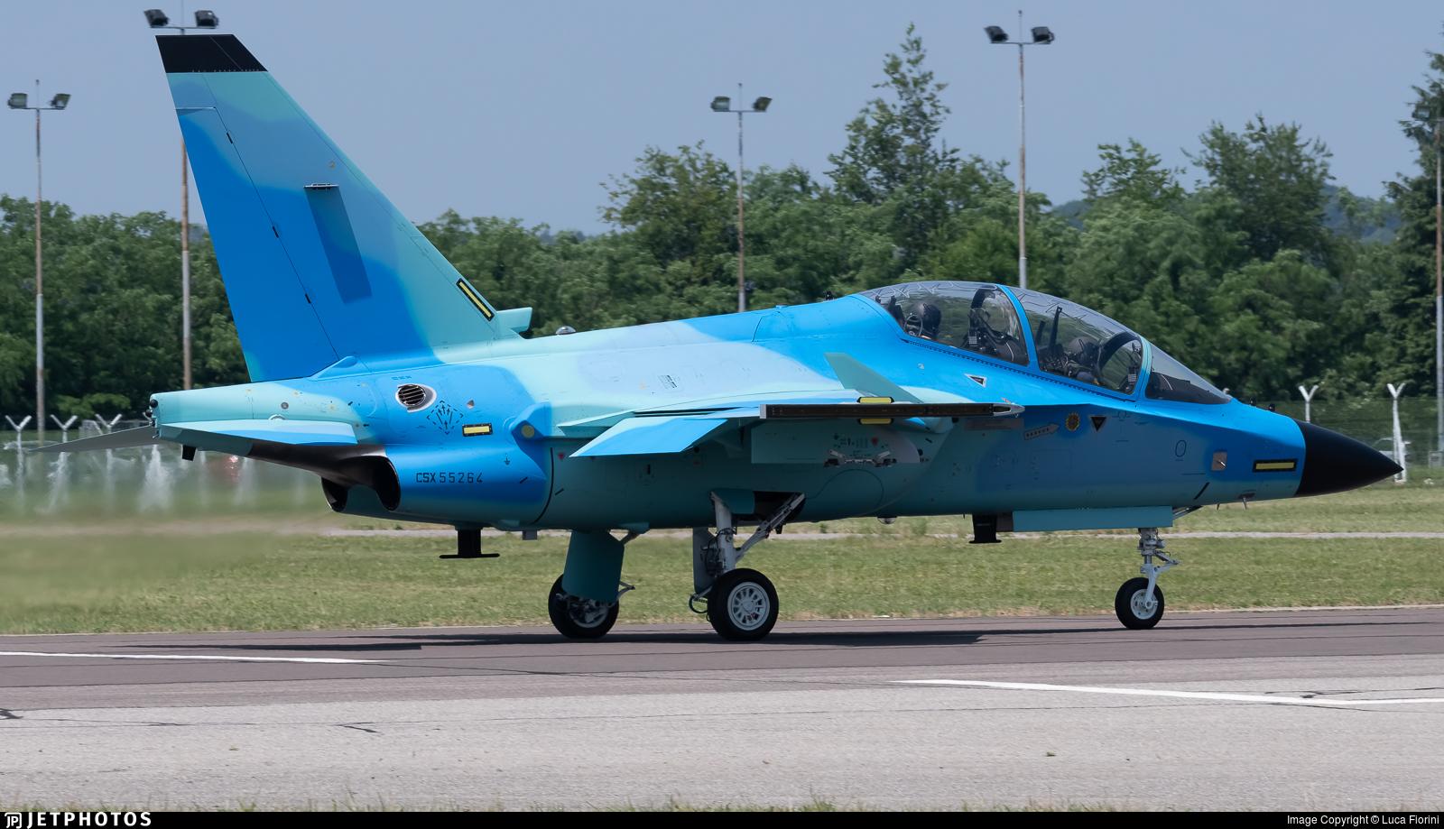 CSX55264 - Alenia Aermacchi M-346 LFFA - Alenia Aeronautica