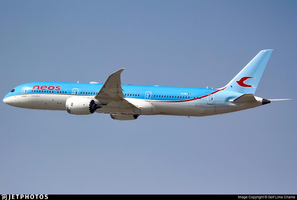 EI-NEU - Boeing 787-9 Dreamliner - Neos