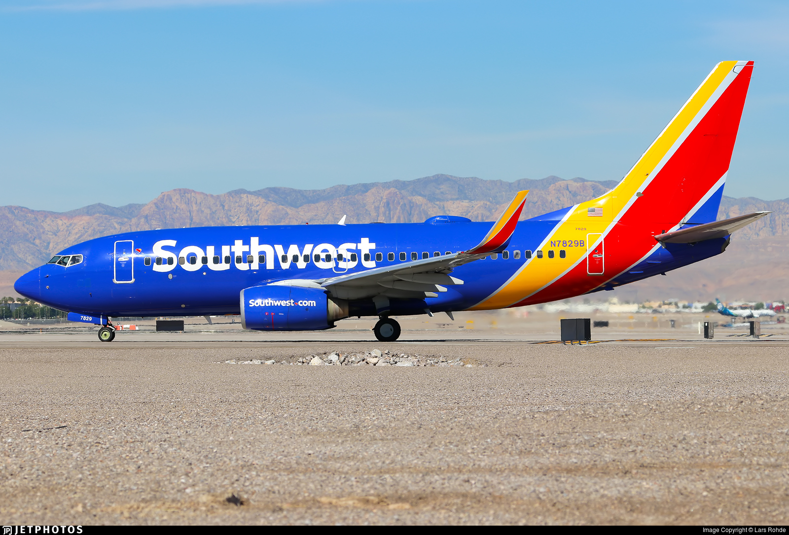 N7829B - Boeing 737-7CT - Southwest Airlines