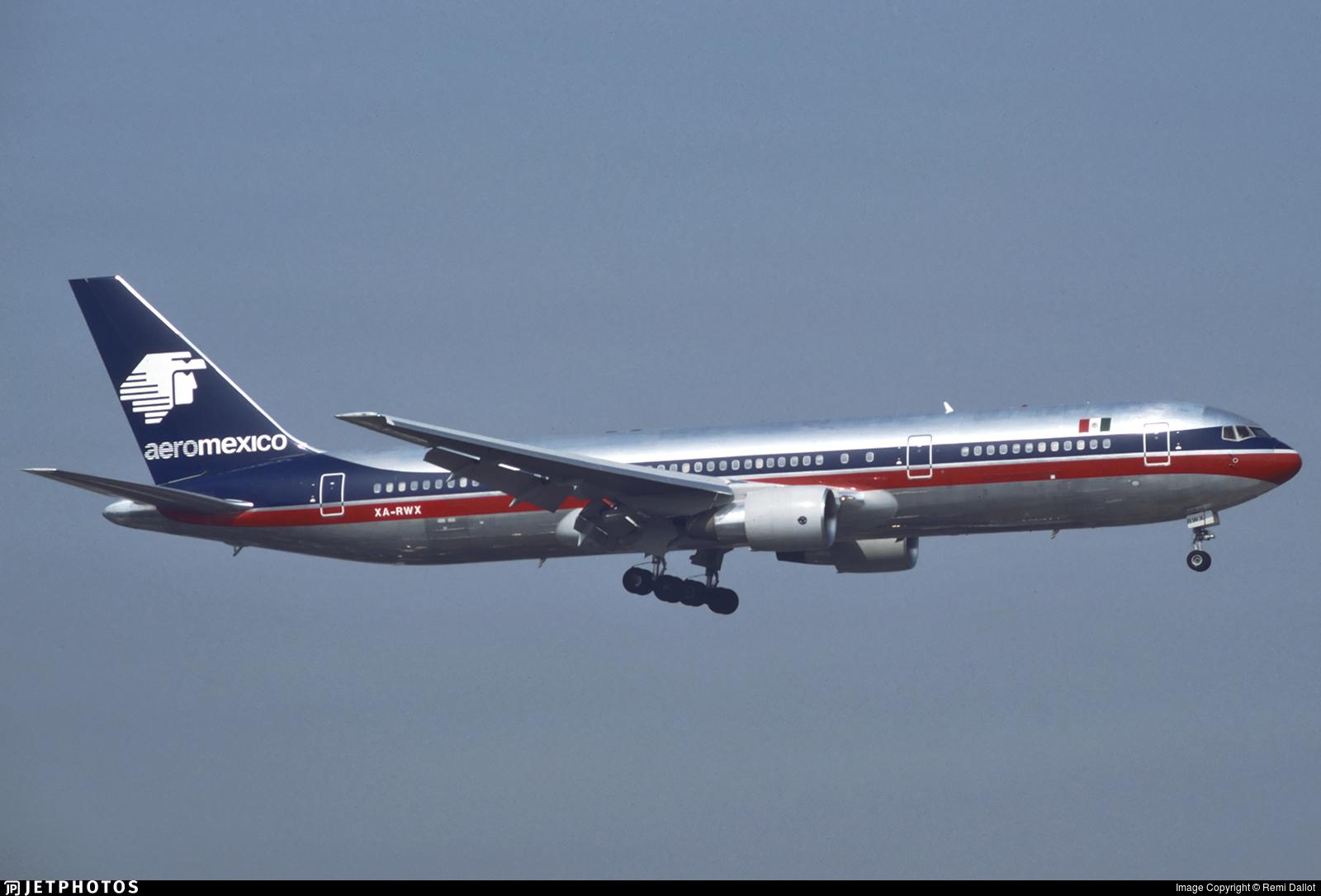 XA-RWX - Boeing 767-3Y0(ER) - Aeroméxico