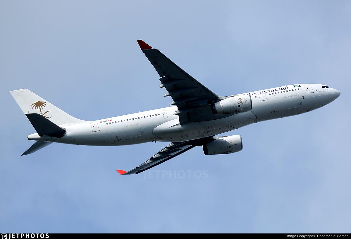 TC-OCJ - Airbus A330-243 - Saudi Arabian Airlines (Onur Air)