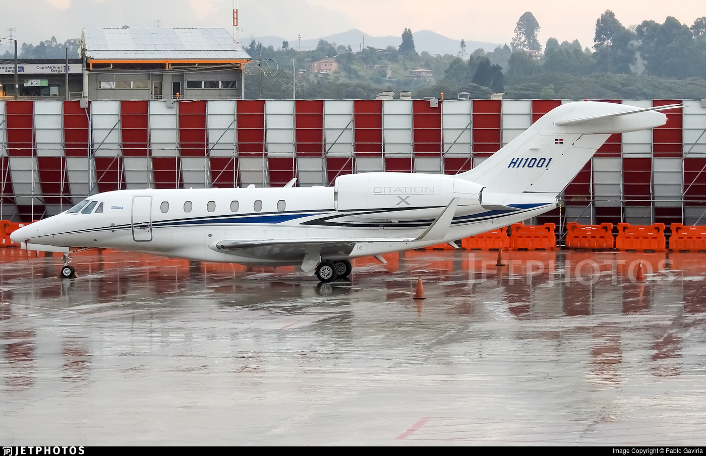 HI1001 - Cessna 750 Citation X - Helidosa