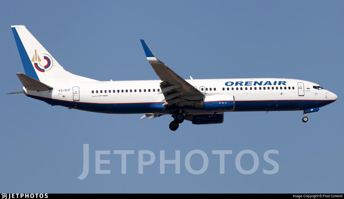 VQ-BUF - Boeing 737-8GJ - Orenair