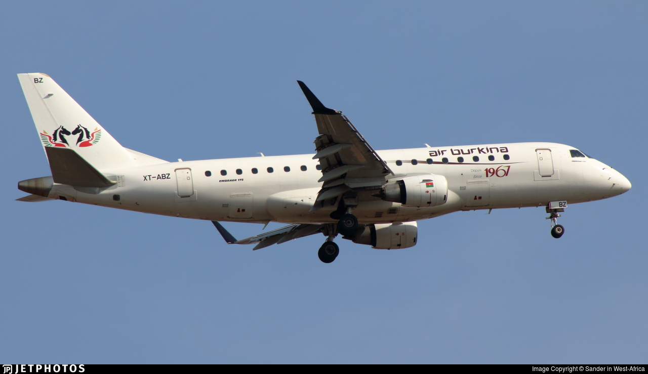 XT-ABZ - Embraer 170-200LR - Air Burkina