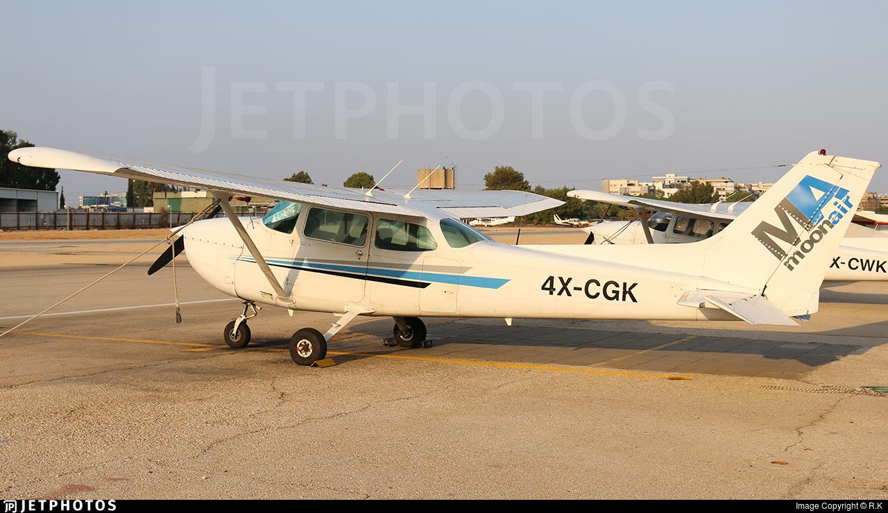 4X-CGK - Cessna 172P Skyhawk II - MoonAir