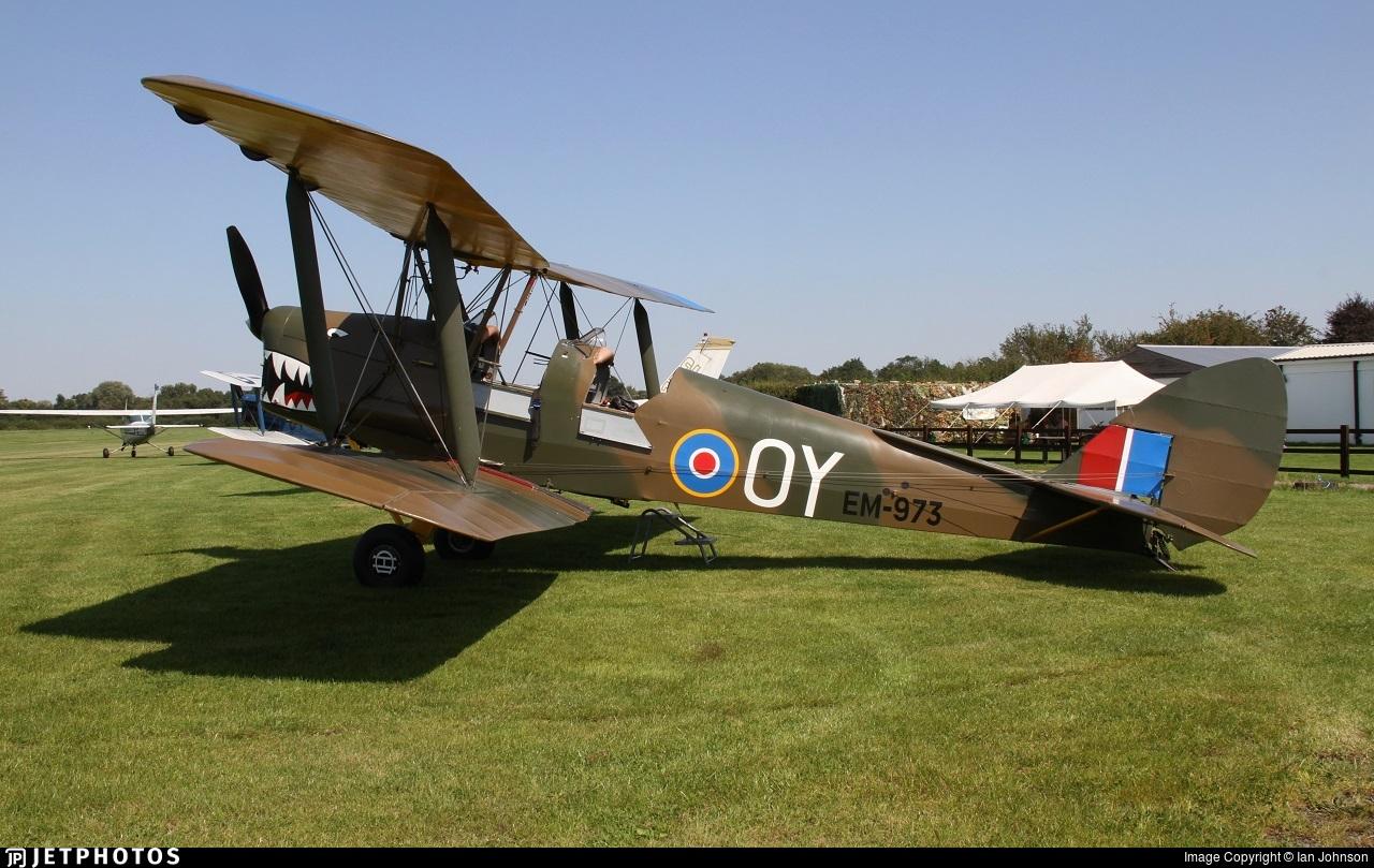 G-ALNA - De Havilland DH-82A Tiger Moth - Private
