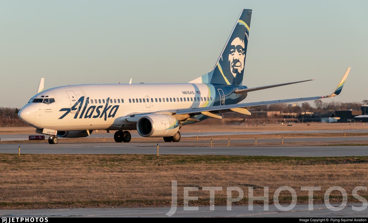 N615AS - Boeing 737-790 - Alaska Airlines