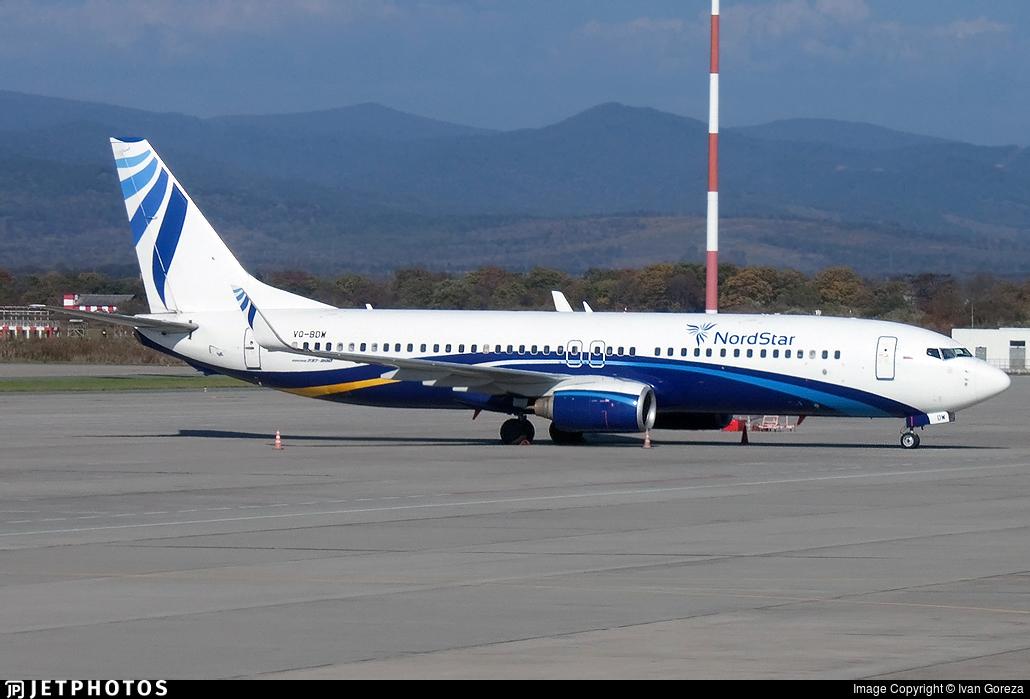 VQ-BDW - Boeing 737-8K5 - Nordstar