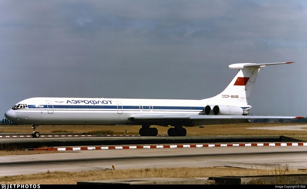 CCCP-86466 - Ilyushin IL-62M - Aeroflot