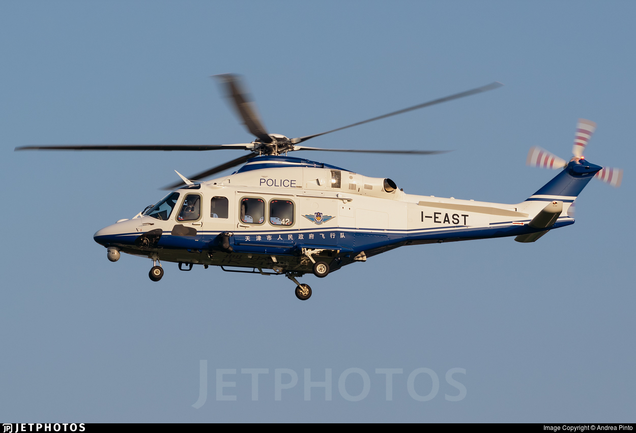 I-EAST - Agusta-Westland AW-139 - China - Police