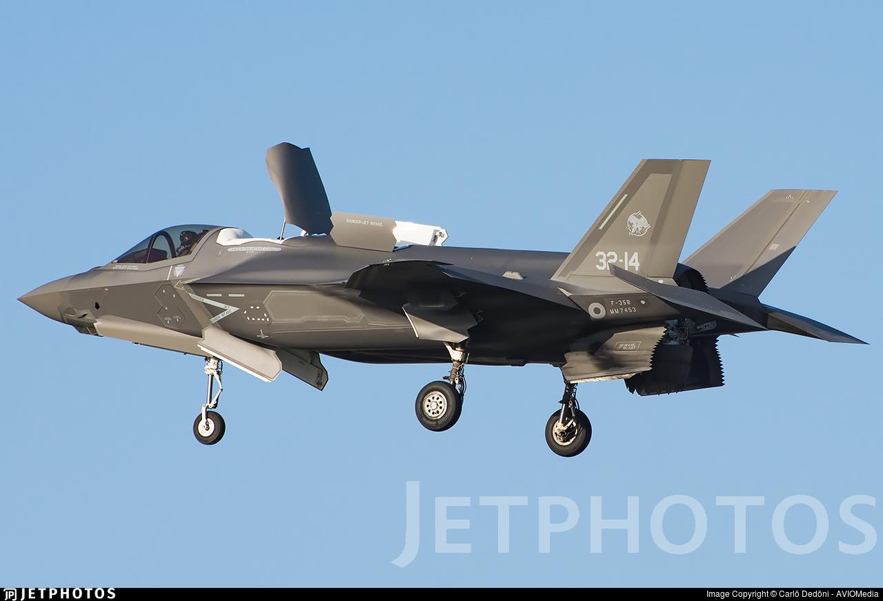 MM7453 - Lockheed Martin F-35B Lightning II - Italy - Air Force