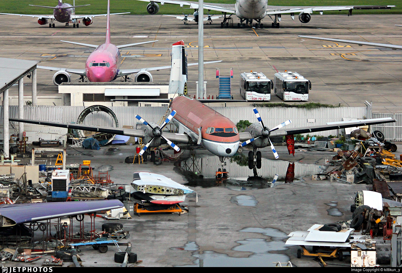 HS-KUO - NAMC YS-11A - Phuket Air