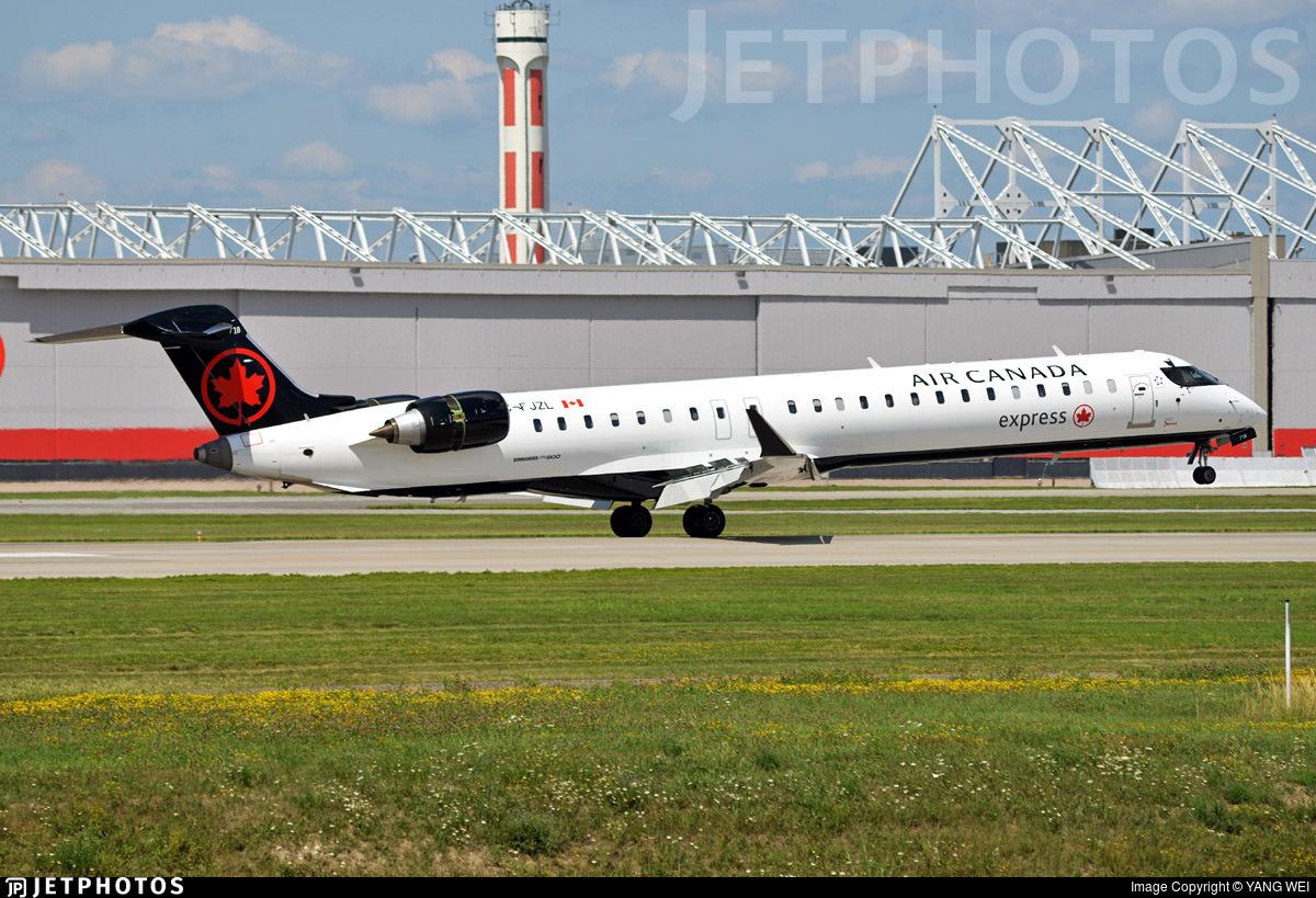 C-FJZL - Bombardier CRJ-900LR - Air Canada Express (Jazz Aviation)