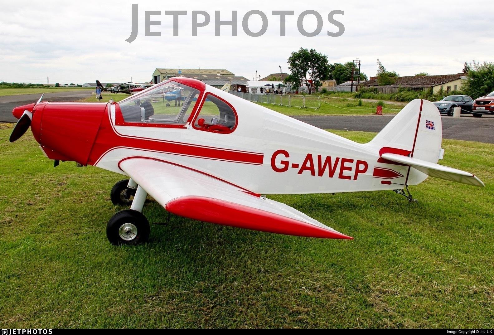 G-AWEP - Gardan JB-01 Minicab - Private