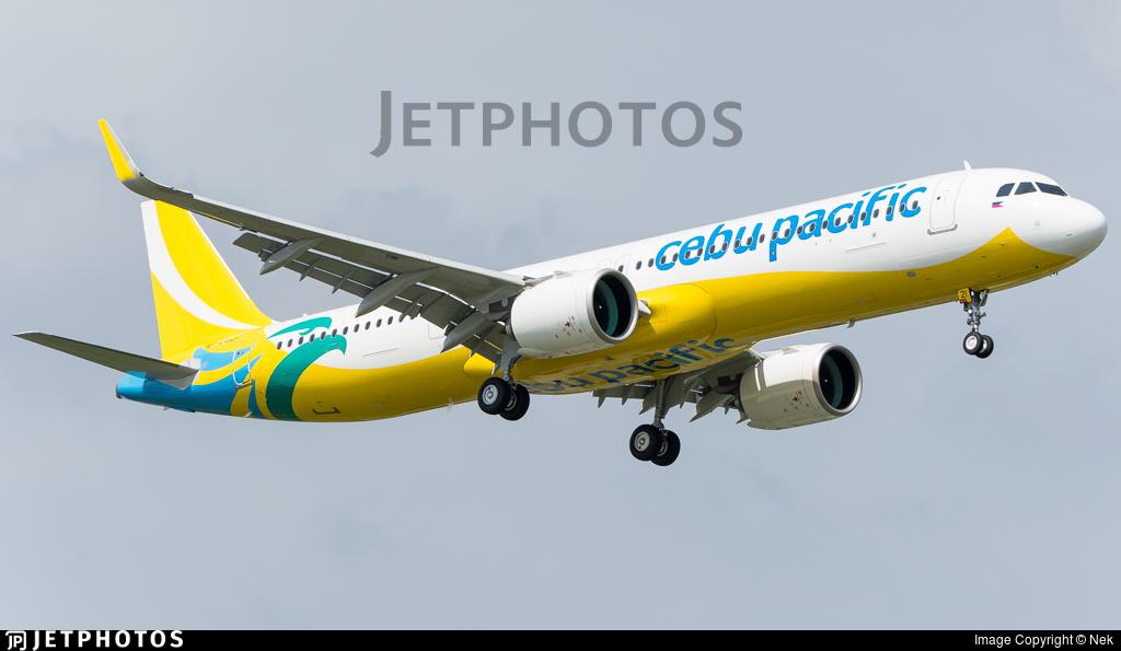 RP-C4121 - Airbus A321-271NX - Cebu Pacific Air