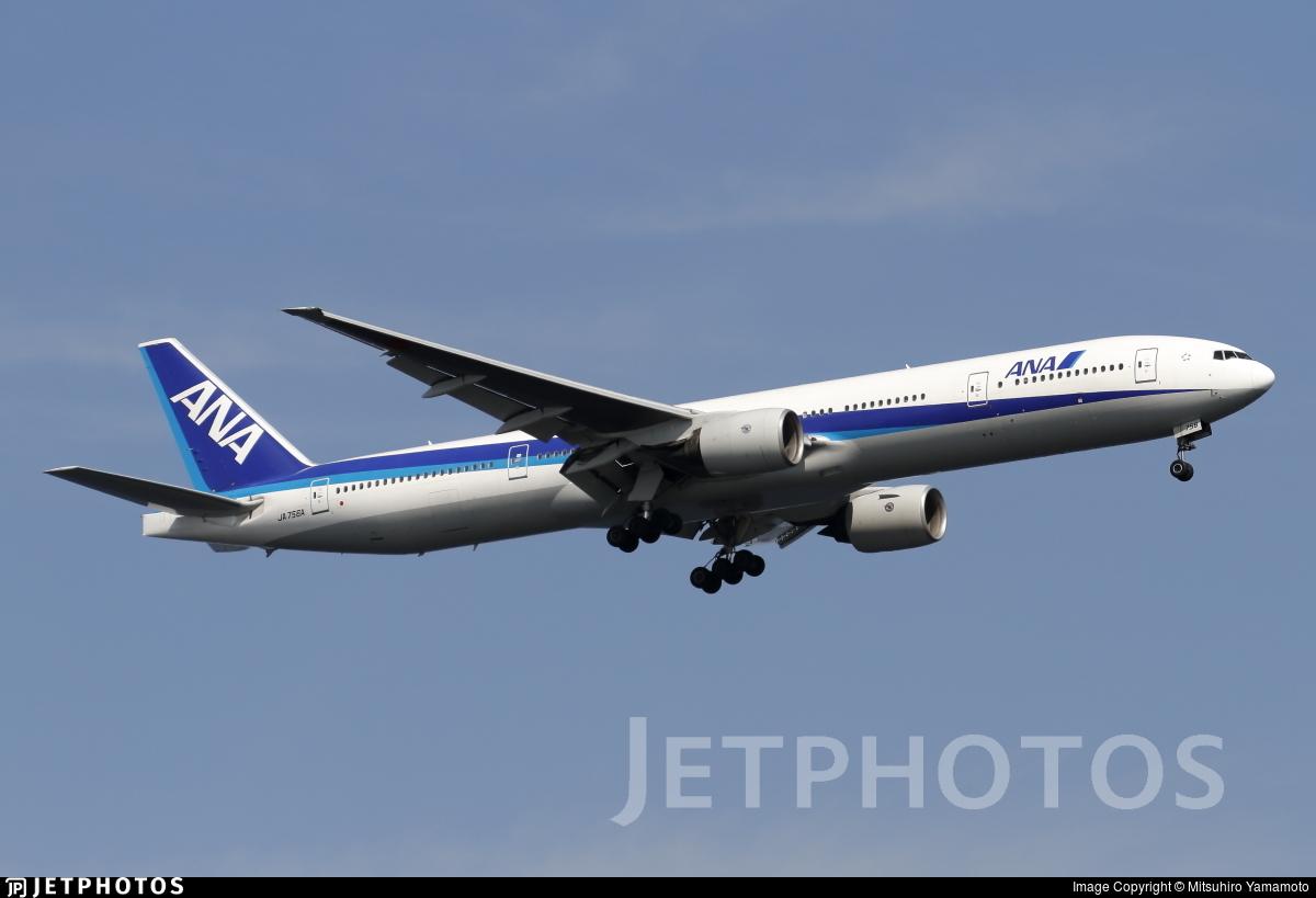 JA756A - Boeing 777-381 - All Nippon Airways (ANA)