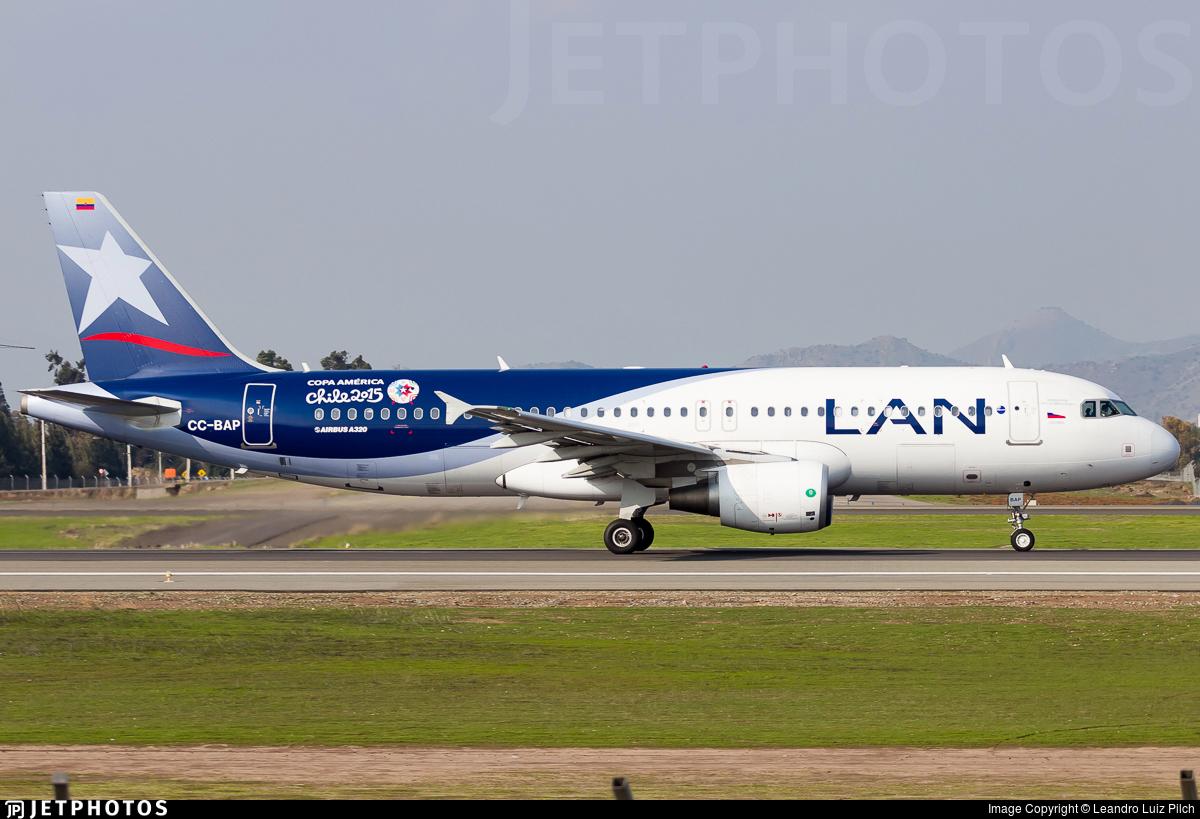 CC-BAP - Airbus A320-214 - LAN Airlines
