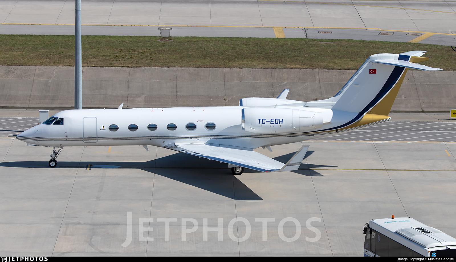 TC-EDH - Gulfstream G450 - Private