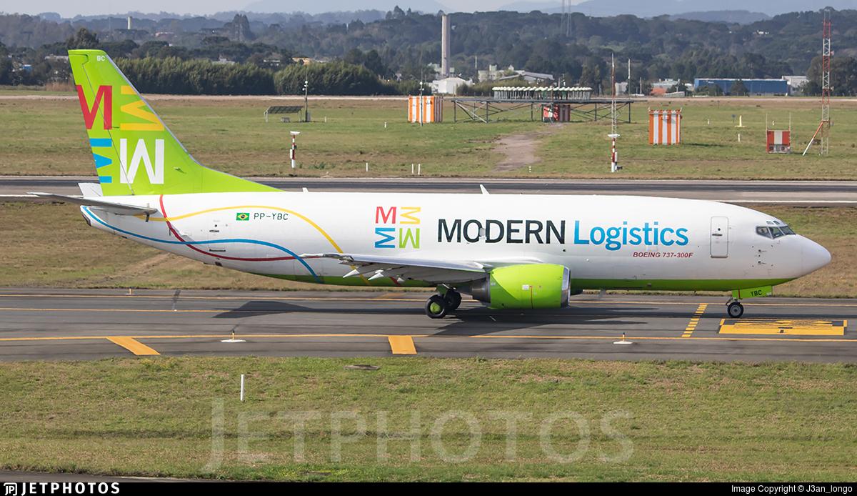 PP-YBC - Boeing 737-3L9(QC) - Modern Logistics