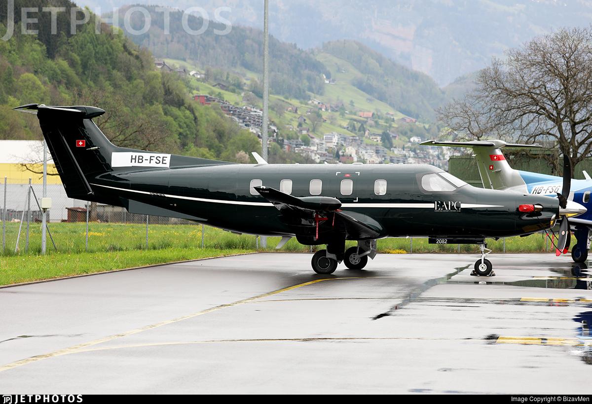HB-FSE - Pilatus PC-12 NGX - European Aircraft Private Club (EAPC)