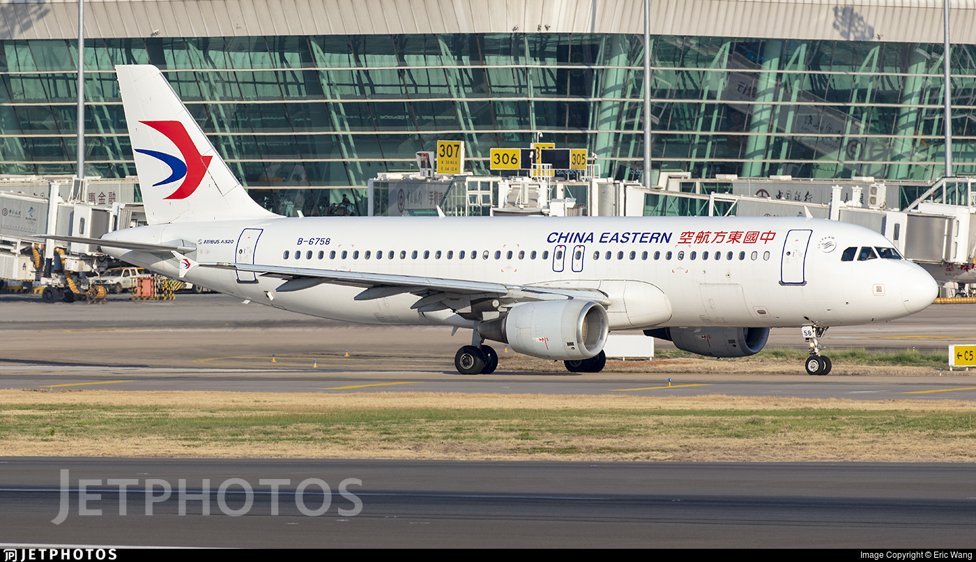 B-6758 - Airbus A320-214 - China Eastern Airlines